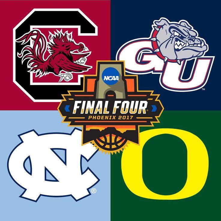 Final Four: Updated Brackets—Gonzaga & South Carolina, Oregon & North Carolina
