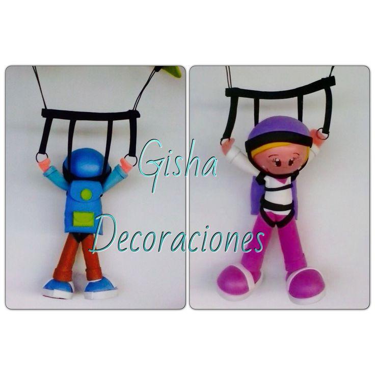 Gisha decoraciones fofuchas  Hacemos todo tipo de decoraciones  Llámanos y pide tu presupuesto 680133097-654221375