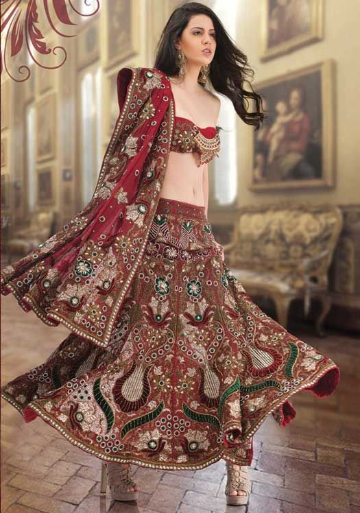 Latest Indian style bridal collection 2015. All the famous designers of India have been introducing their latest collections