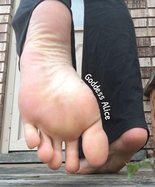 Foot Goddess Alice
