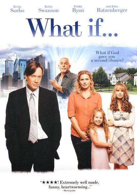 """What if"" Christian Movie - Christian Movie/Film on DVD/Blu-ray. http://www.christianfilmdatabase.com/review/what-if/    Great film, easy to watch and quite funny in places. The angel steals the show hands down but it's a fun movie."