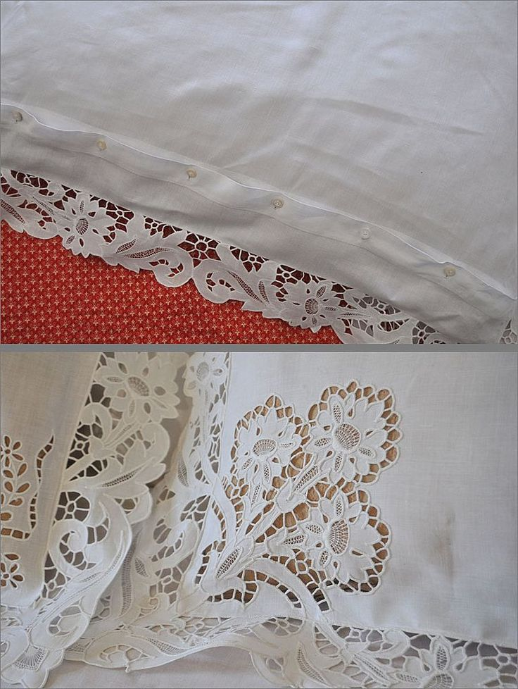 This is a gorgeous vintage linen sheet or bed cover with matching shams. c1900.  It has a monogram on both shams and sheet...initials A.N.H.  Crisp