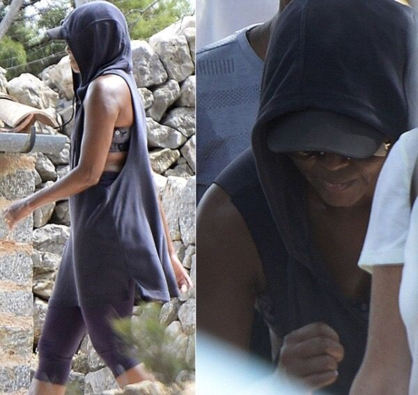 #FirstLady #MichelleObama in #Mallorca #Island in #Spain visiting American diplomat James Costos and his partner, Michael Smith #Obama #BarackObama #ObamaFoundation #ObamaGirls #TheObamas