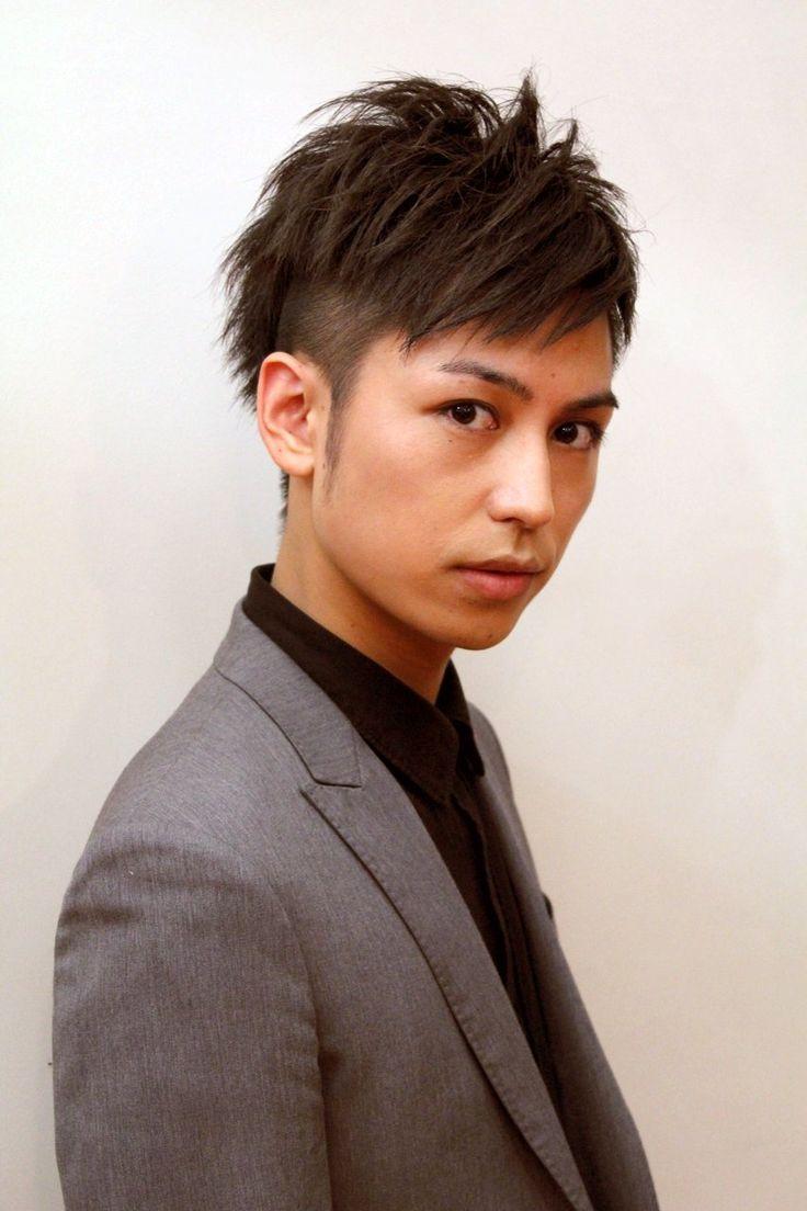 アシンメトリーツーブロック〜メンズショート:髪型・ヘアスタイルカタログ-スタイリストディレクトリ