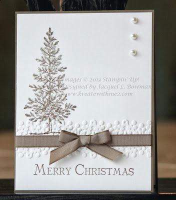 1000 ideas about stamped christmas cards on pinterest for Elegant christmas card ideas