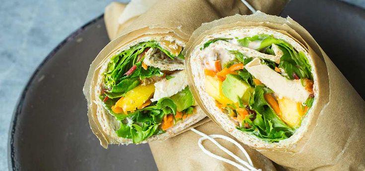 Grove wraps med kylling og mango   Lises blogg