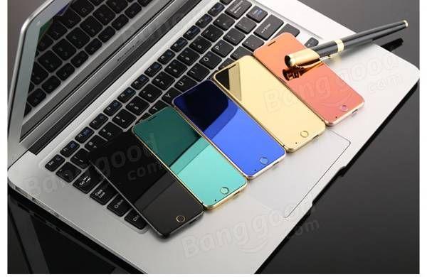 Anica A16 1.63 Inch 480mAh Touch Sensitive Keyboard Ultra-thin Dual SIM Bluetooth Mini Card Phone