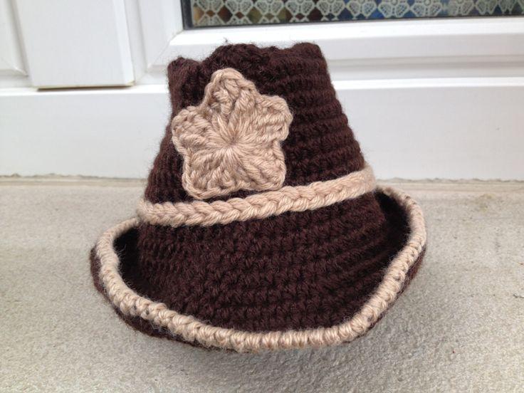 Cappello da cowboy neonato Scegli i tuoi colori e formato - realizzati su ordinazione di CreationPatchworkEwa su Etsy