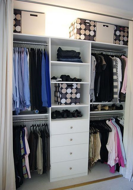 25 best ideas about closets peque os on pinterest for Modelos de closets para dormitorios pequenos