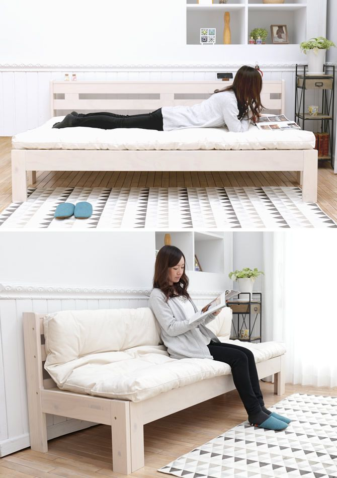extension sofa bet north europe natural pine expansion and contraction type woodenness bed countrylike sofa bench sofa 2p sofa woodenness bed futon mat