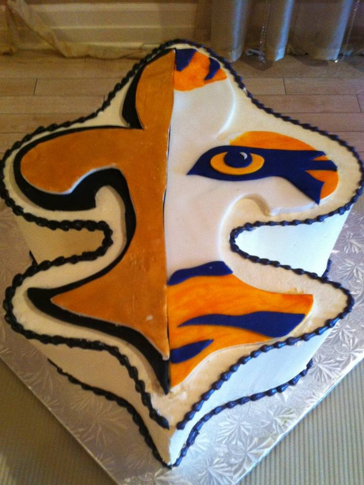 109 best who dat nation cakes cookies images on for Tattoo shops lafayette louisiana