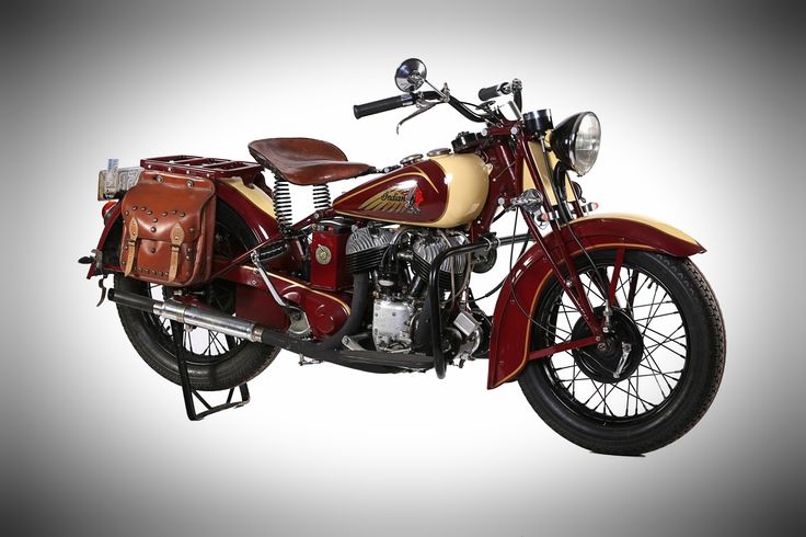 1942 Indian Scout 741-B, used in World War II. On display at Classic Motorcycle Mecca, Invercargill. For more info visit transportworld.nz