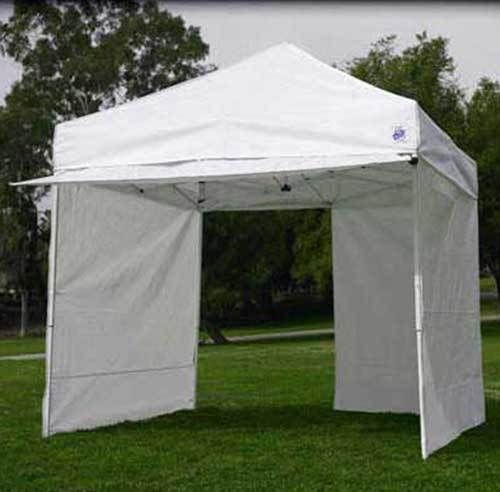 EZ Pop Up Canopy 10x10 Z Shade Commercial Shelter Fair Tent 10 x 10 4 Walls NEW & The 25+ best Ez up tent ideas on Pinterest | Easy up tent Vendor ...