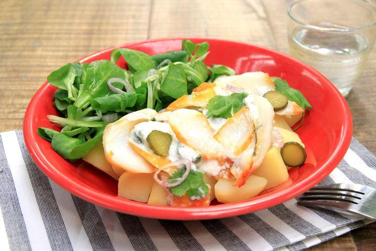 Salade de haddock et pommes de terre