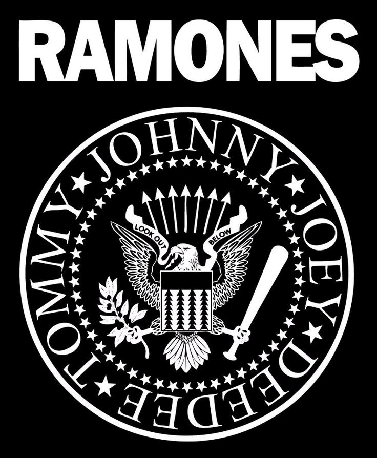 The Ramones Logo: Like most logos, the design for the Ramones was created with a purpose. To brand the group as the quintessential All-American rock band using imagery from The Presidential Seal. And while the Ramones are no more, their legend, and famous eagle, live on.