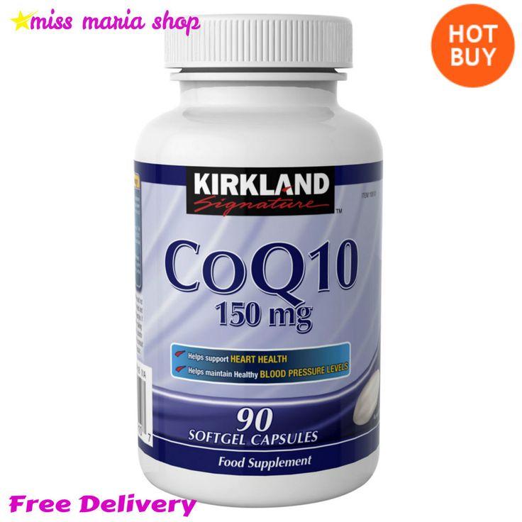 CoQ10 Vitamins 90 Capsules Vitamins E Coenzyme Q 10 Food Supplement 150mg Health