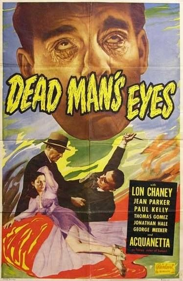 """Looks like a 6-sheet. One of the 6 fun """"Inner Sanctum"""" films made at Universal in the 1940s with Chaney Jr."""