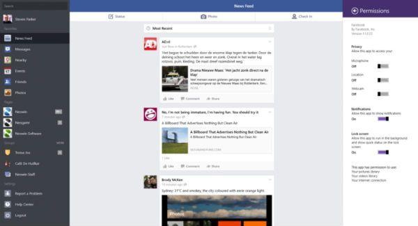 Windows 8 Get Official Facebook App