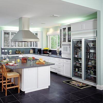 26 best refrigerators images on pinterest fringes - Glass door fridge for home ...