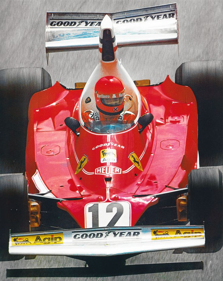 Niki Lauda - Ferrari 312T 1975