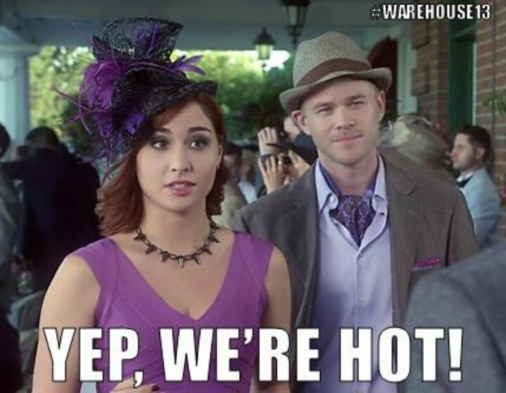 I pinned this because... Warehouse 13