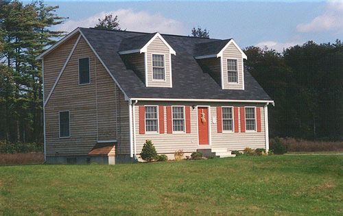 Full rear dormer cape home renovation ideas pinterest for Cape cod dormer addition