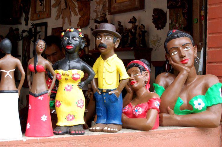 Beleza e expressividade do artesanato brasileiro.
