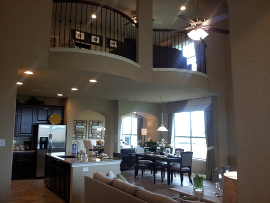 Saddle Creek Ranch - Atalon Plan - Family Room
