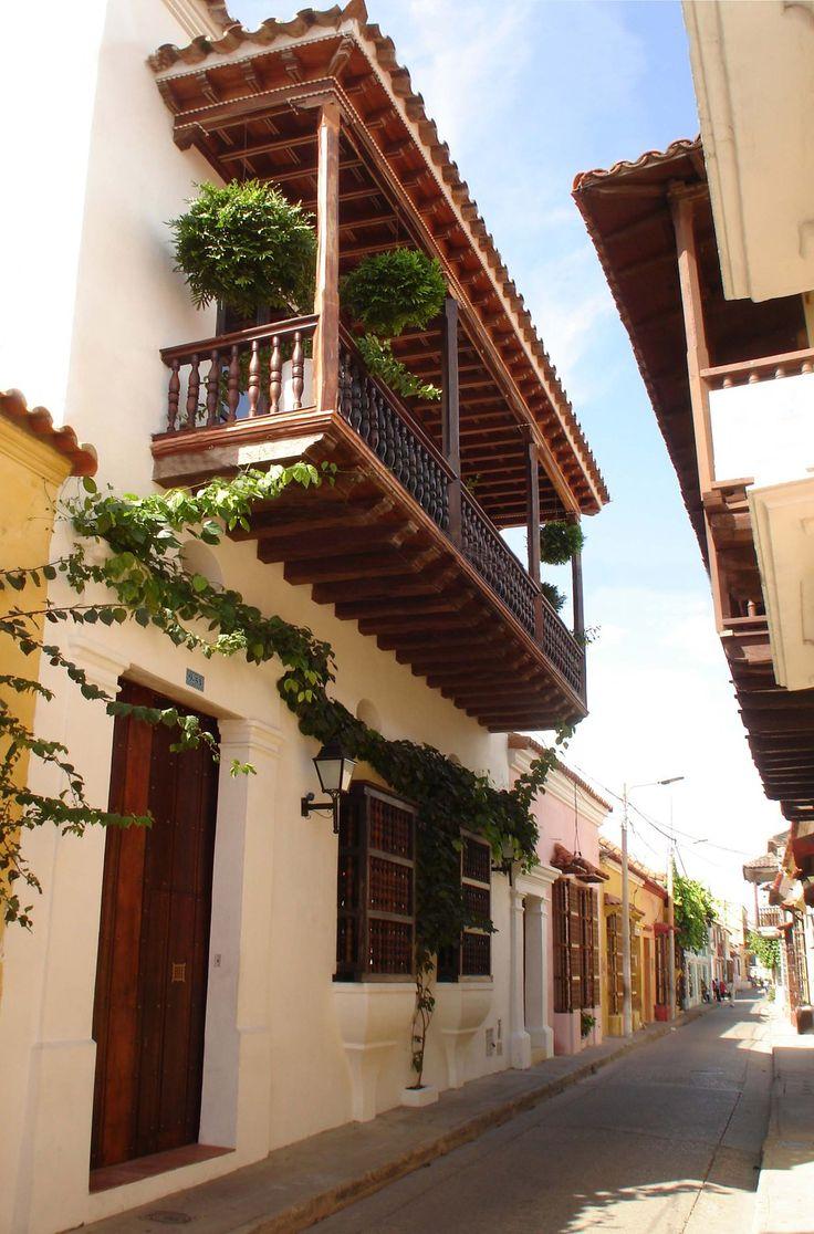 Cartagena de Indias y sus callecitas de ensueño...