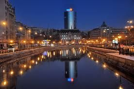 Bucharest - Google Search -- Bucharest at the Blue Hour.  This picture is breathtaking.  This City is wonderful.
