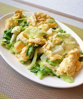 簡単!キャベツと卵だけでも美味しい中華 by moj [クックパッド] 簡単おいしいみんなのレシピが247万品