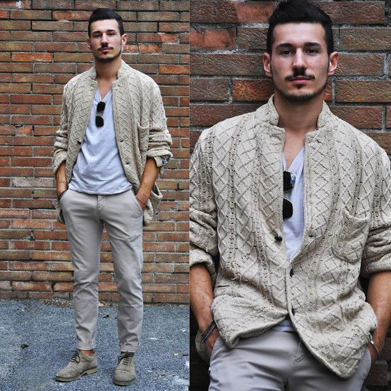 Dead Meat Cardigan - love the breast pocket and the neckline on this.