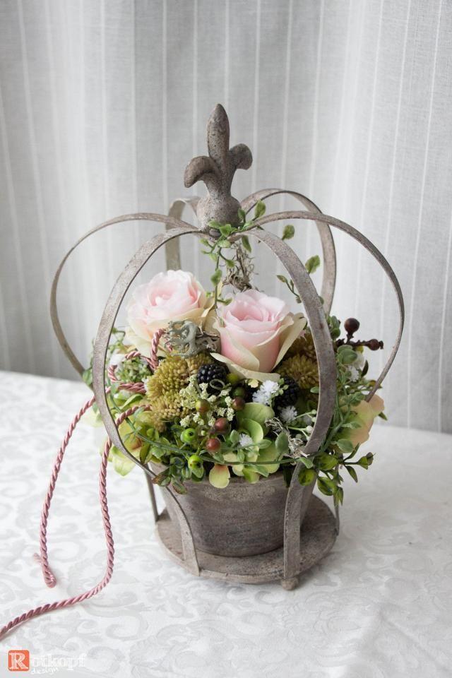 Fruhlings Dekoration In 2020 French Vintage Decor Flower Pots