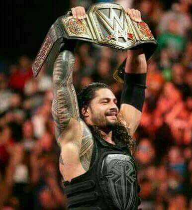Wwe Roman Reigns champion of the belt