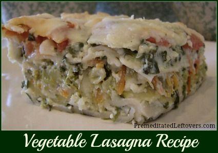 ... Party on Pinterest | Mozzarella, Lasagna and Vegetable Lasagna Recipes