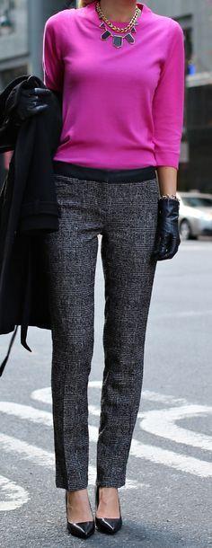 NEW EXPRESS Womens Columnist Black Tweed Ankle Crop Dress Pants Slacks Size 2R #Express #DressPants