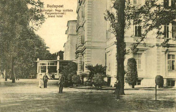 Grand-hotel Nagyszálloda a Margitszigeten 1920-as évek - Forrás: www.egykor.hu