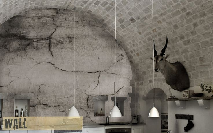 WALL wallpaper // #Creativespace #Wall #Wallpaper #CartaDaParati #Arredamento #Design #InteriorDesign #Interni #Cucina