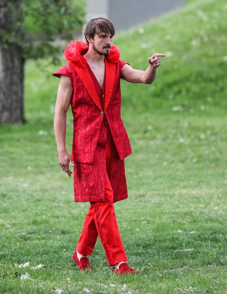 Oberon, King of the Fairies, in A Midsummer Night's Dream. Shakespeare in the Park Calgary with Theatre Calgary and Mount Royal University.