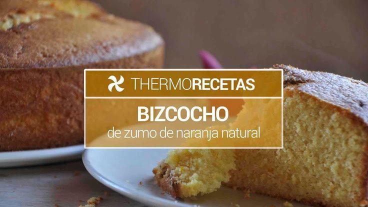Bizcocho de zumo de naranja natural (sin lácteos) - https://www.thermorecetas.com/bizcocho-de-zumo-de-naranja-natural/