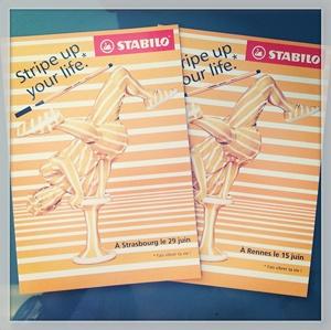 @stabilo #stripeupdaystabilo #cartcom #cartepostalepublicitairegratuite #advertisment #advertising #pub #publicite