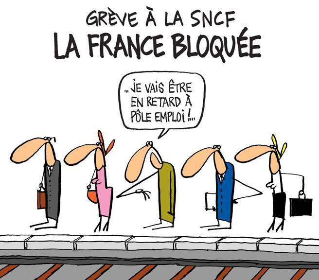 Humor Satire: #mixremix #humour #satire #social #politique #sncf #grève