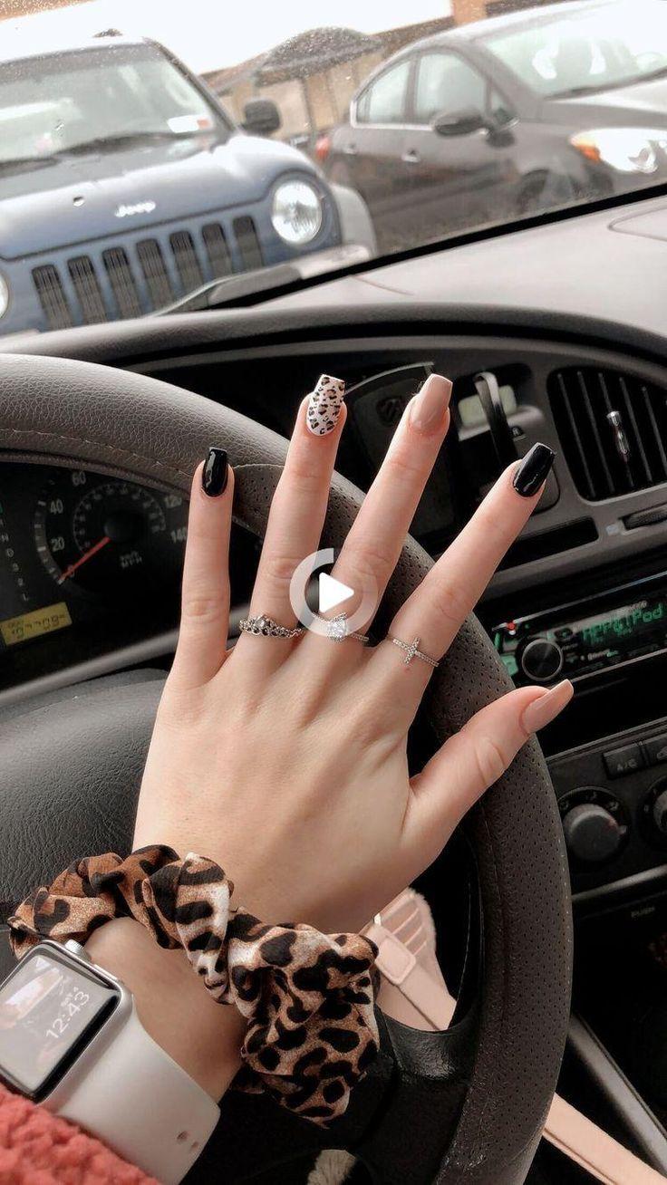 Gomor Like A Boss in 2021 Cheetah acrylic nails, Dream