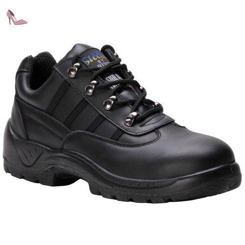 Portwest , Chaussures de sécurité pour homme - Noir - noir, 40.5