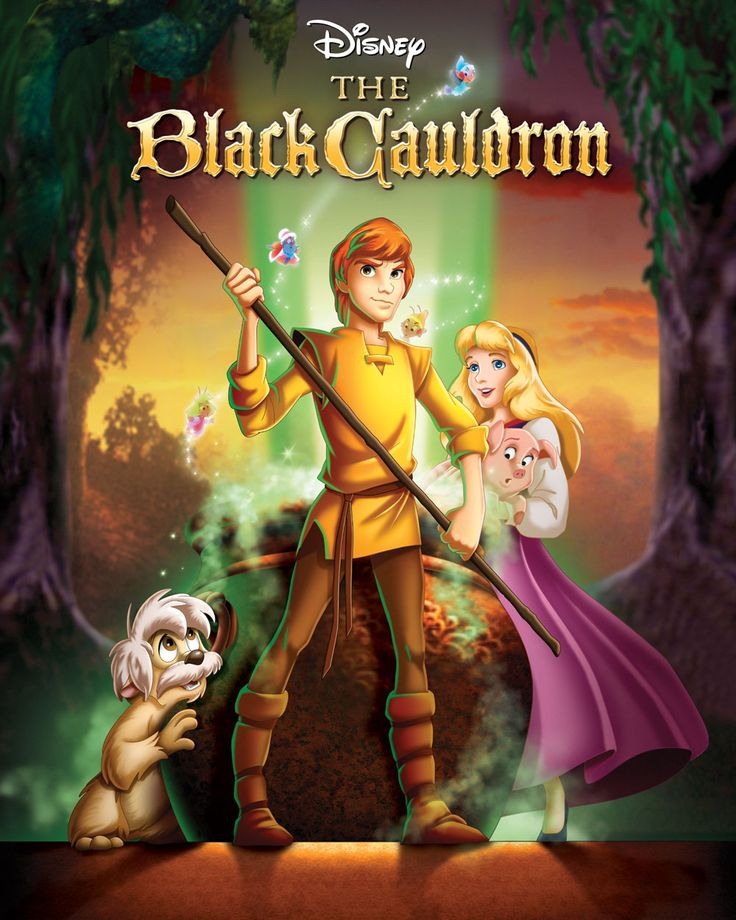 The Black Cauldron. Need to watch!!