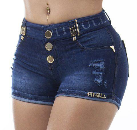 Shorts  Pit Bull Jeans  com bojo removivel 40/42  cód: 24147
