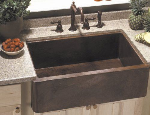 apron front kitchen sink country ikea reviews kraus 36 stainless steel base cabinet