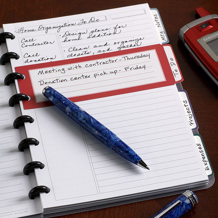 17 Best Images About Disc Bound Notebooks On Pinterest
