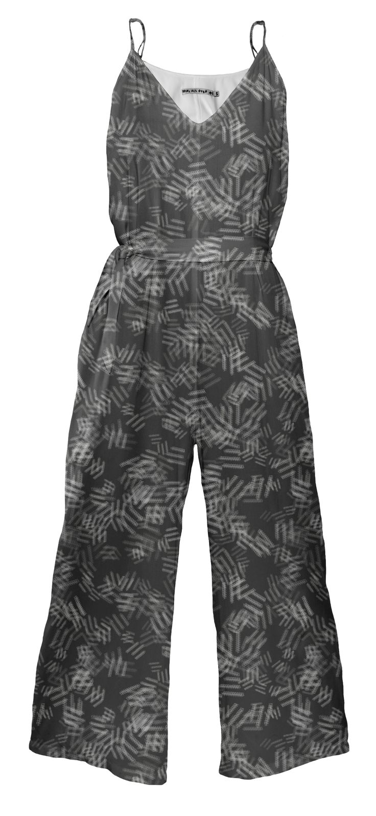Graphic jumpsuit By Elena Indolfi #PrintAllOverMe