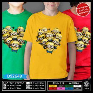 Baju Minion Despicable Me 3